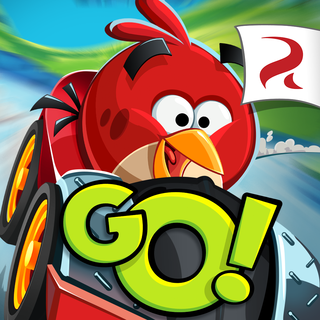 iPhone, iPad: »Angry Birds Go!«